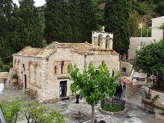Krassi     Kera Monastery near Krassi, Heraklion, Crete,