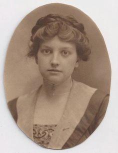 1900 woman portrait - Google Search