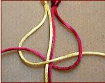 scroll down macrame sight for alternating square knot