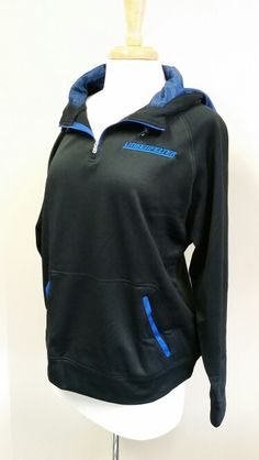 "Lingenfelter Race Gear black hoodie/royal, poly fleece.  $38.00. www.lingenfelter.com (260) 724-2552 #Lingenfelter #Corvette  Sizes Small - 2XL in stock.  ""Bungee"" style toggle drawcord.  #Fall #Fashion"
