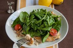 Chicken Paillard with Lemon Salad