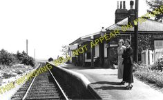 A photograph of the Great Eastern Railway station at Stanhoe. Old Train Station, Disused Stations, Burnham, Norfolk, Wells, Old Photos, Railroad Tracks, Photograph, Marketing