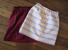 """Sewing tutorial: 13 simple steps to sew a straight skirt - DIY: A simple and inexpensive skirt to make yourself! """"Two girlfriends, ideas and talent, this is t - Sewing Projects For Beginners, Sewing Tutorials, Sewing Hacks, Diy Jupe, Sewing Online, Short Niña, Diy Vetement, Blog Couture, Cheap Skirts"""
