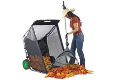 Dreading leaf raking this fall? Check out our latest find that is certain to make life easier. Enjoy fall more and rake less with the High-Tech Home!