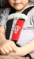 Kids medic alert car seat tag--this is a great idea in case you are unable to speak for your child in an accident!