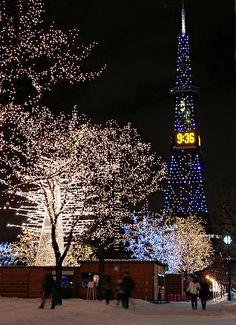 """ Sappori TV Tower "" at Sapporo-City in #Hokkaido, #Japan.  Address / Location 〒060-0042  1 Nishi, Odori, Chuo-Ku, Sapporo-City, Hokkaido, Japan. TEL:81-11-241-1131"