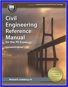 Civil engineering reference manual for the pe exam 15th ed civil engineering reference manual for the pe exam 14 edition fandeluxe Choice Image