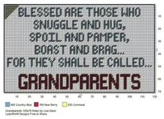 GRANDPARENTS by LISA DAVIS -- WALL HANGING