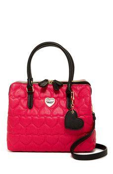 Betsey Johnson - Be Mine Quilted Shoulder Bag