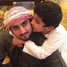 Ahmed bin Mohammed bin Rashid Al Maktoum y su sobrino, Hamad bin Mohammed bin Hamad Al Sharqi, 27/09/2015. Vía: latifa.mrm
