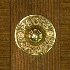 Harvey Solid Brass Round Doorbell