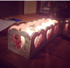 The range. Pretty hearts candles x