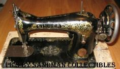 Step by Step how to identify which model of antique Singer Sewing Machine you have. Comprehensive and with links to manual for each machine.