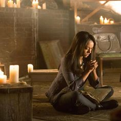 The Vampire Diaries Bonnie Bennett (love her the reason I watch the show!!!)