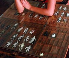 Star Wars Coffee Table - Erik's old collection could probably fill this and then some..