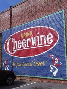 Drink Cheerwine. It's full of good Cheer!