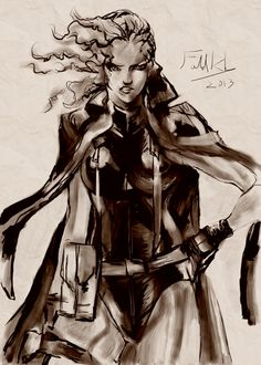 I've drawn this artwork in the Metal Gear Art Studio. Have a look or choose your own free canvas.