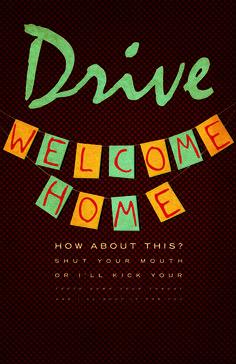 Drive - movie poster - Eddy Earwigg
