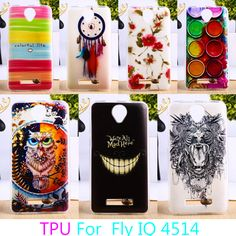 Soft TPU Phone Cases For fly iq4514 iq 4514 evo tech 4 tech4 Cases Colorful Cover Anti-knock Shield cell bags Back Housings #clothing,#shoes,#jewelry,#women,#men,#hats,#watches,#belts,#fashion,#style