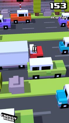 New top score on Crossy Road, Nerf, Arcade, Landscape, Top, Landscape Paintings, Shirts, Scenery