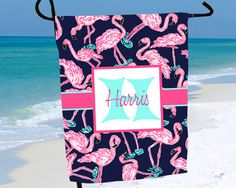 Beach Sign Garden Flag Beach House Decor Personalized