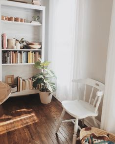 Bookshelf decor inspiration   house plants