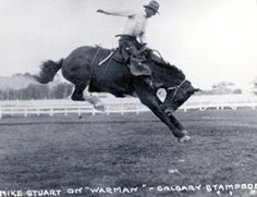 Mike Stuart, Saddle Bronc Riding • Inducted 1979, PRCA Rodeo