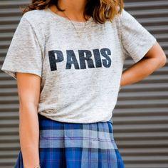Madewell Paris T-shirt Cute Paris top from madewell good condition, original price $49.50 Madewell Tops Tees - Short Sleeve