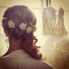 My wedding hairdo