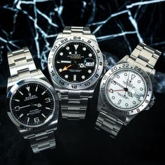 Which Rolex Explorer do you like Fam?!👇 It's awesome that we offer Rubber Straps for all of them now 💪🧐@Rolex.club1 Pic by 📸@crownandcaliber   Customize your Rolex watch at www.everestbands.com #Rolex #rolexexplorer2 #216570 #rolexexplorer2 #everestbands Rolex Explorer 2, Rolex Tudor, Official Account, Swiss Made Watches, Watch Bands, Rolex Watches, Awesome, Accessories, Instagram