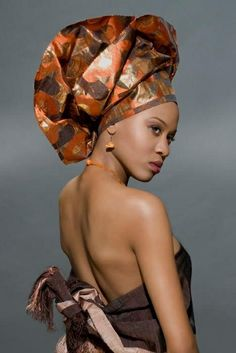 She stuns with her Gele...