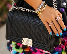 Top 10 Most Iconic Chanel Pieces: Chanel Boy (Flap) Bag #Chanel #bags #ChanelBoyBag