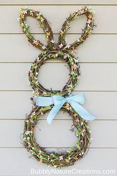 Easter Bunny Wreath  - CountryLiving.com