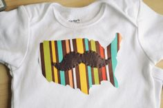 Mustaches ARE hilarious. Even for babies. True.