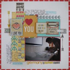 paper: pretty paper. true stories. {and scrapbooking classes with cupcakes.}: Scrapbooking with stickers. So many stickers.