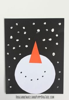 snowman and snow craft for kids Crafts Snowman Craft for Kids - FSPDT January Art, January Crafts, December, Winter Art Projects, Winter Crafts For Kids, Craft Projects, Preschool Projects, Winter Ideas, Winter Fun