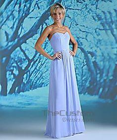 A-line Sweetheart Floor-length Chiffon Bridesmaid Dresses 10308855