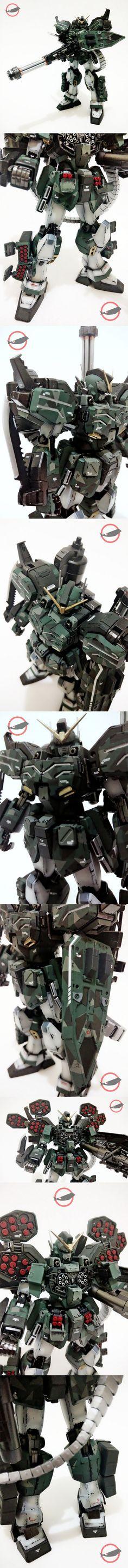 Gundam Heavyarms Guerilla Warfare Detail Looks 2