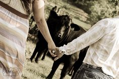 Country engagement photography by  WaterColor FOTOGRAPHY Donna Dodson Sandra Leas  WaterColorFotography.com