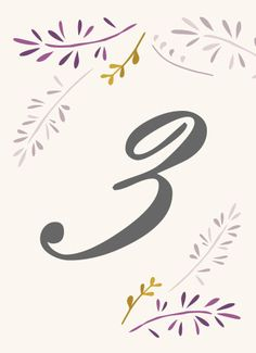 Forever Love Table Numbers - Hoopla House