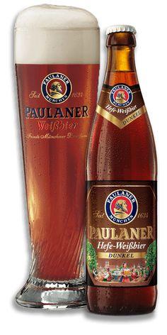 Paulaner Dunkel (octubre – Food for Healty Cerveza Paulaner, Fun Drinks, Alcoholic Drinks, Beers Of The World, Wheat Beer, Beer Brands, German Beer, Scotch Whiskey, Vegetable Drinks