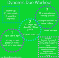 Dynamic Duo Workout - partner workout at the gym!