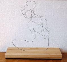 Her Sitting by Gavin Worth