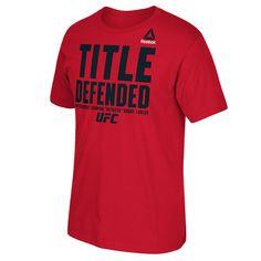 Robbie Lawler UFC 195 Reebok Champion T-Shirt - Red - $22.99