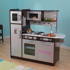 KidKraft Uptown Espresso Kitchen - 53260 -  Kid Kraft Pretend Play - Nurzery.com - 1