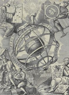 Geography, History, Technology, and Astronomy, 1710. / Celestial Dynasty