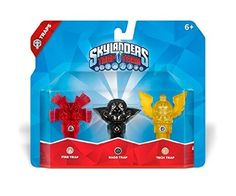 awesome Skylanders Trap Team: Triple Trap Pack: Fire, Kaos, Tech - For Sale Check more at http://shipperscentral.com/wp/product/skylanders-trap-team-triple-trap-pack-fire-kaos-tech-for-sale/