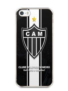 Capa Iphone 5/S Time Atlético Mineiro Galo #2 - SmartCases - Acessórios para celulares e tablets :)
