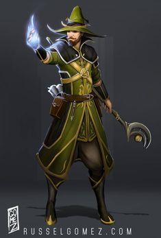 Fantasy Wizard, Fantasy Male, Fantasy Rpg, Fantasy Artwork, Fantasy Heroes, Character Portraits, Character Outfits, Game Character, Character Concept