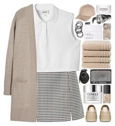 """""""drama queen"""" by anavukadinovic ❤ liked on Polyvore featuring moda, Monki, N.Peal Cashmere, River Island, Christy, Casetify, NARS Cosmetics, Clinique, Harry Allen i H&M"""